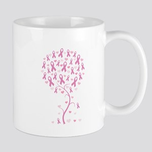 Pink Ribbon Breast Cancer Tre Mug