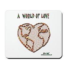 World of Love Mousepad