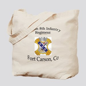 2nd Bn 8th Inf Tote Bag