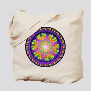 Nature Mandala Tote Bag