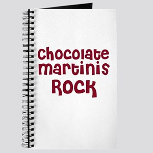 Chocolate Martinis Rock Journal
