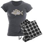 Jolthead Porgy Women's Charcoal Pajamas