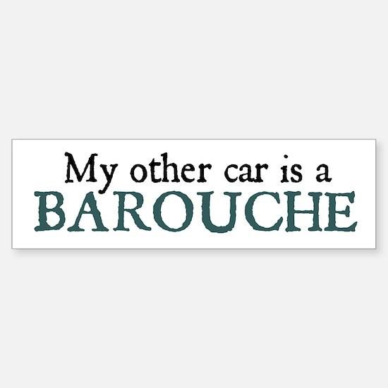 Barouche Bumper Bumper Bumper Sticker