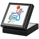 Ok-9 Inspiration (basketball) Keepsake Box