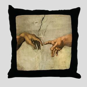 Michaelangelo CREATION Pretty Pillows Throw Pillow