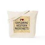 Exploring Western Mass.Tote Bag
