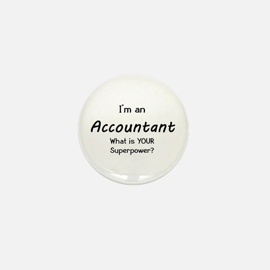 accountant Mini Button