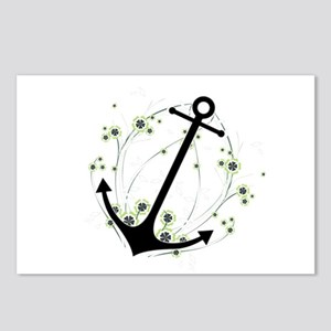 Anchor swirl Postcards (Package of 8)