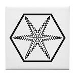 Galactic Institute of Civilized War Tile Coaster