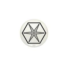 Galactic Institute of Civilized War Mini Button (1