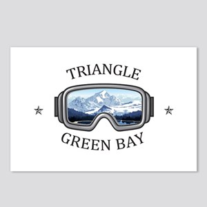 Triangle Sports Area - Postcards (Package of 8)