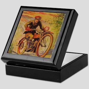 Tom Swift Motorcycle Keepsake Box