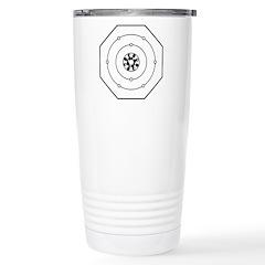 Universal Oxygen Symbol Stainless Steel Travel Mug