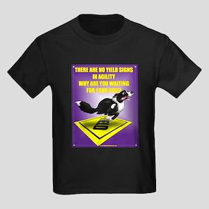 No Yield In Agility Kids Dark T-Shirt