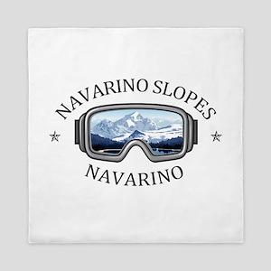Navarino Slopes - Navarino - Wiscons Queen Duvet