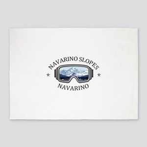 Navarino Slopes - Navarino - Wisc 5'x7'Area Rug