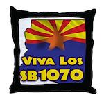 Viva Los SB1070 Throw Pillow