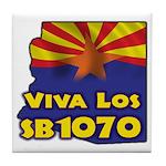 Viva Los SB1070 Tile Coaster