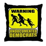Undocumented Democrats Throw Pillow