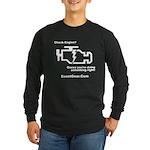 Check Engine - Long Sleeve Dark T-Shirt