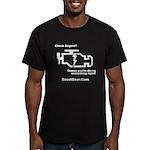 Check Engine - Men's Fitted T-Shirt (dark)