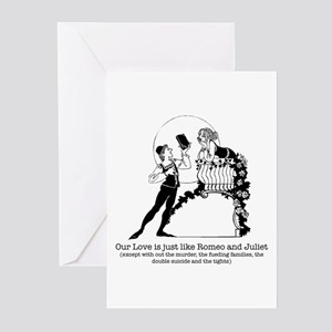 Romeo & Juliet -  Greeting Cards (Pk of 10)
