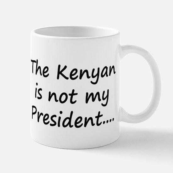 Kenyan Prez Mug