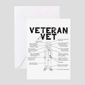 Veteran Vet Female Greeting Card