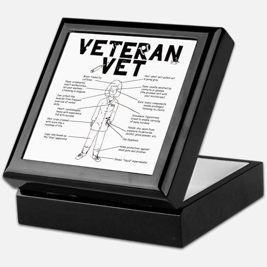 Veteran Vet Female Keepsake Box