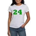 Twenty-four Green/Blue Women's T-Shirt