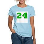 Twenty-four Green/Blue Women's Pink T-Shirt