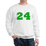 Twenty-four Green/Blue Sweatshirt