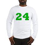 Twenty-four Green/Blue Long Sleeve T-Shirt