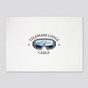 Telemark Lodge - Cable - Wisconsi 5'x7'Area Rug