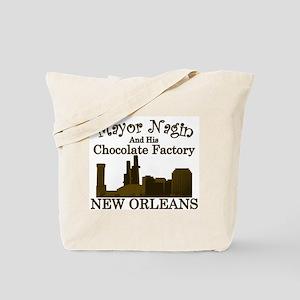 Mayor Nagin Chocolate Factory Tote Bag