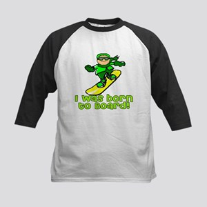 Born to Board Joshua Kids Baseball Jersey