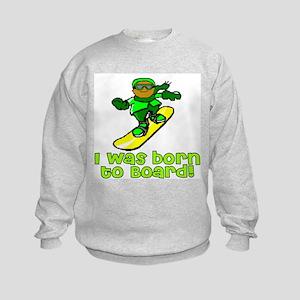 Born to Board Ethan Kids Sweatshirt