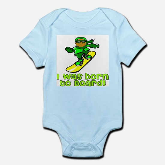 Born to Board Ethan Infant Creeper