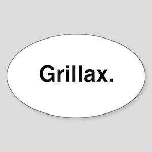 Grillax Sticker (Oval)