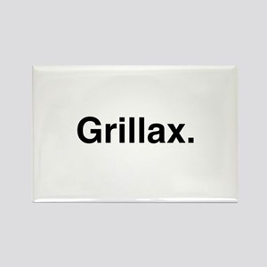 Grillax Rectangle Magnet