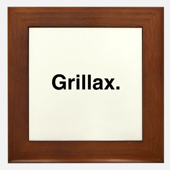 Grillax Framed Tile