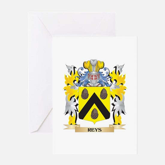 Reys- Family Crest - Coat of Arms Greeting Cards