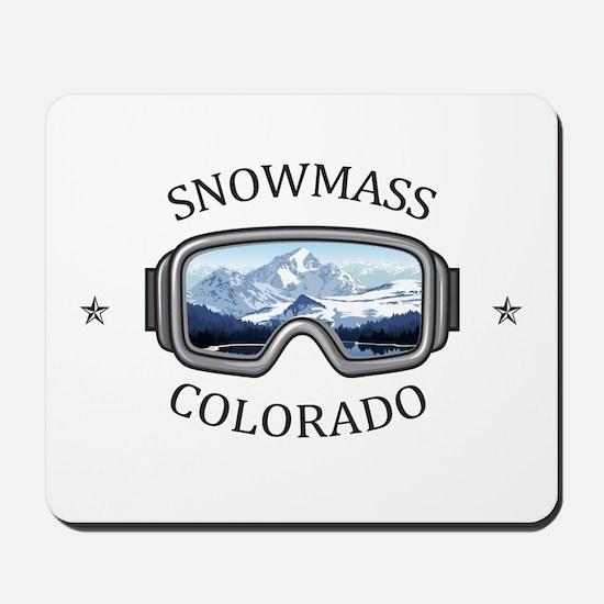 Aspen/Snowmass - Aspen and Snowmass Vi Mousepad