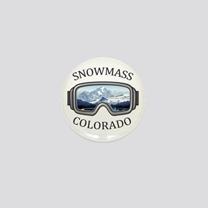 Aspen/Snowmass - Aspen and Snowmass Mini Button