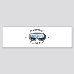 Aspen/Snowmass - Aspen and Snowma Bumper Sticker