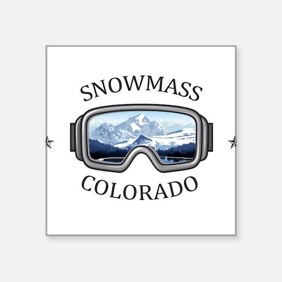 Aspen/Snowmass - Aspen and Snowmass Vill Sticker