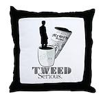 Tweed 2 Throw Pillow