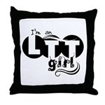 LTT girl Throw Pillow