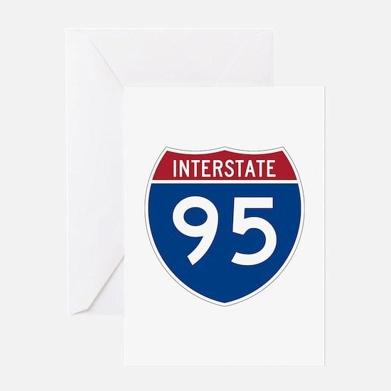 Cute Interstate Greeting Card