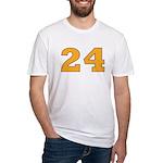 Twenty-four Orange/Blue Fitted T-Shirt